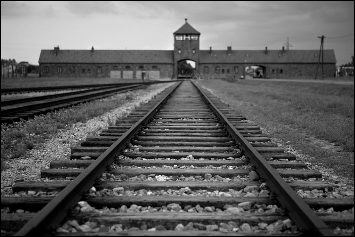 Освенцим Аушвиц концлагерь ворота в ад