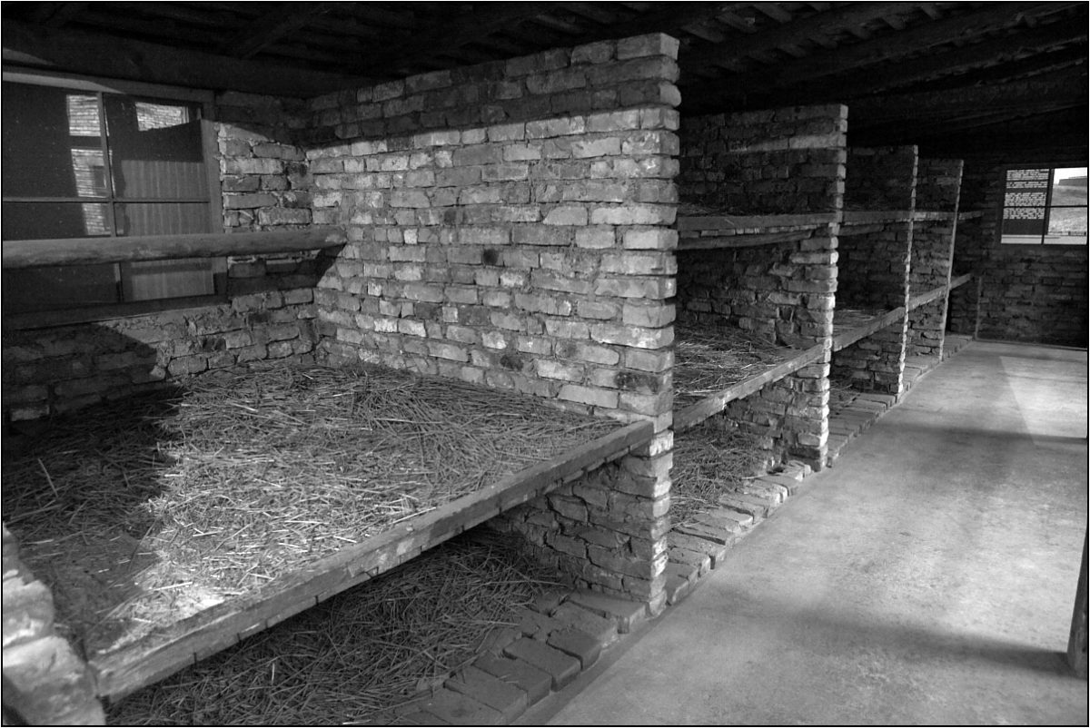 Освенцим Аушвиц концлагерь нары
