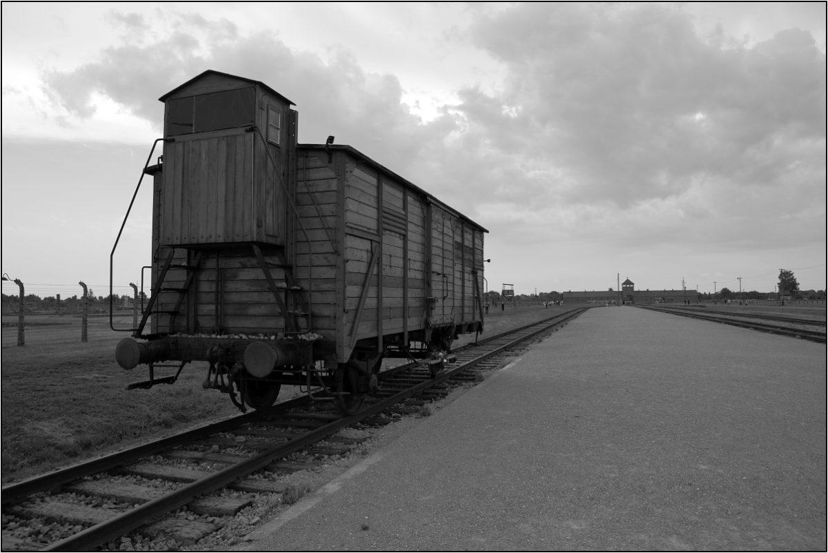 Освенцим концлагерь вагон