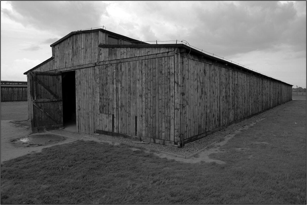 Освенцим концлагерь жилой барак