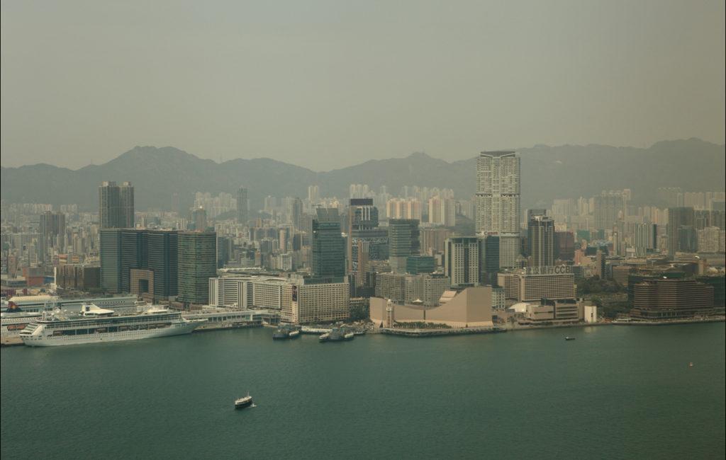 Весенний Гонконг