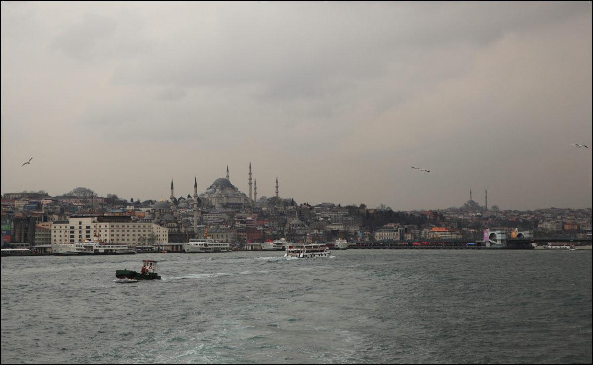 Голубая мечеть Босфор Стамбул