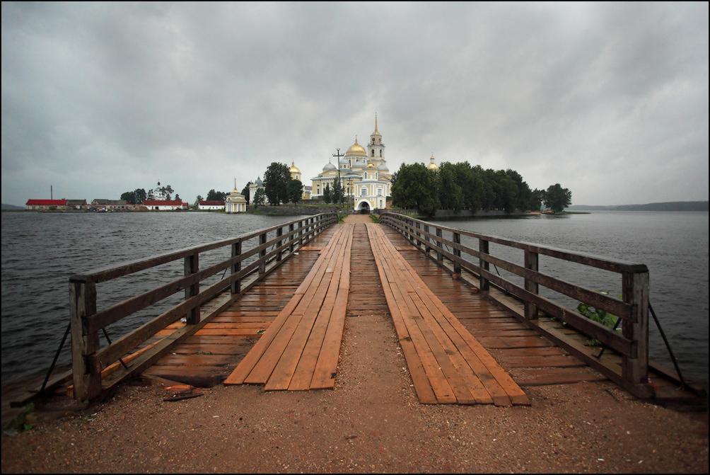 Нило Столобенская пустынь мост