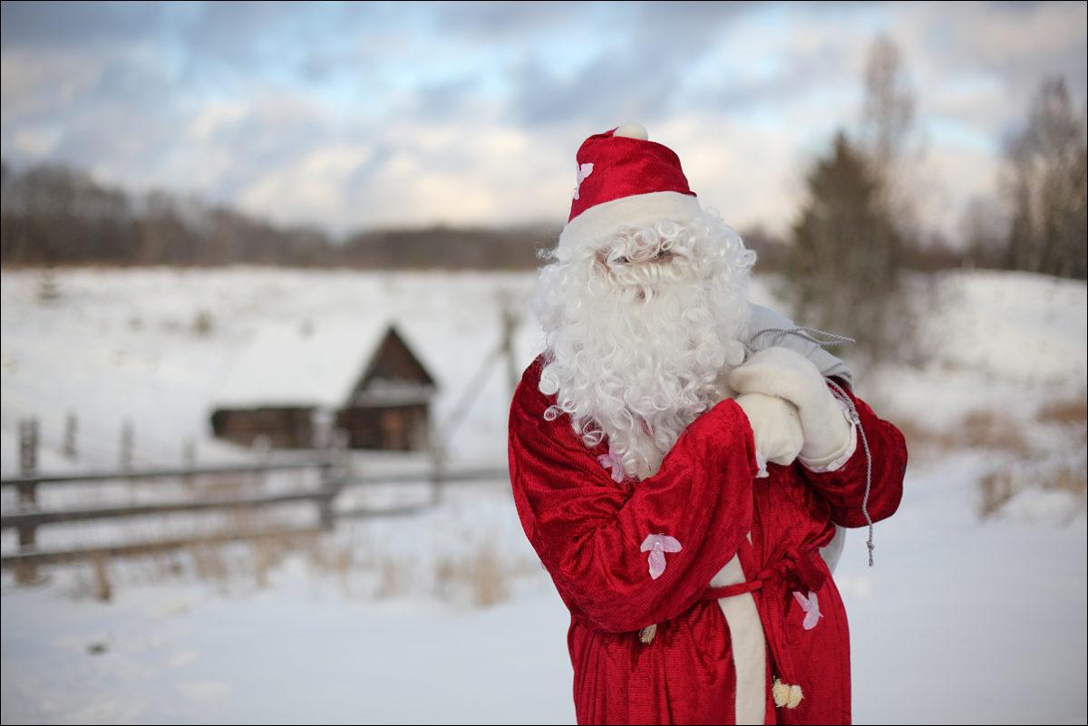 Дед Мороз баня