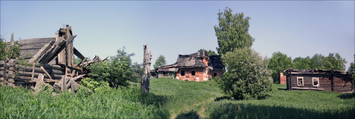 Покинутая деревня Воздухи