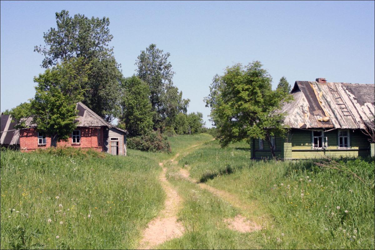 Заброшенная деревня Воздухи