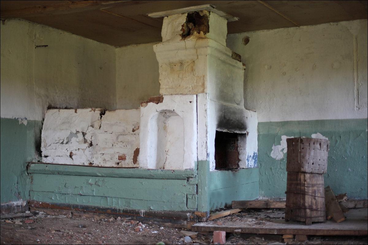 штаб Черняховского Воздухи печь