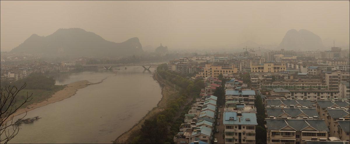 Карстовые холмы Гуйлинь Китай