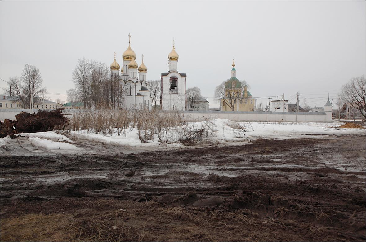 Переславль Залесский ранняя весна