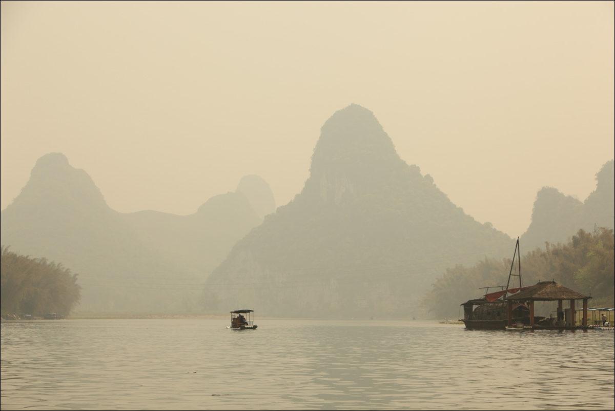 холмы Янгшо река Ли