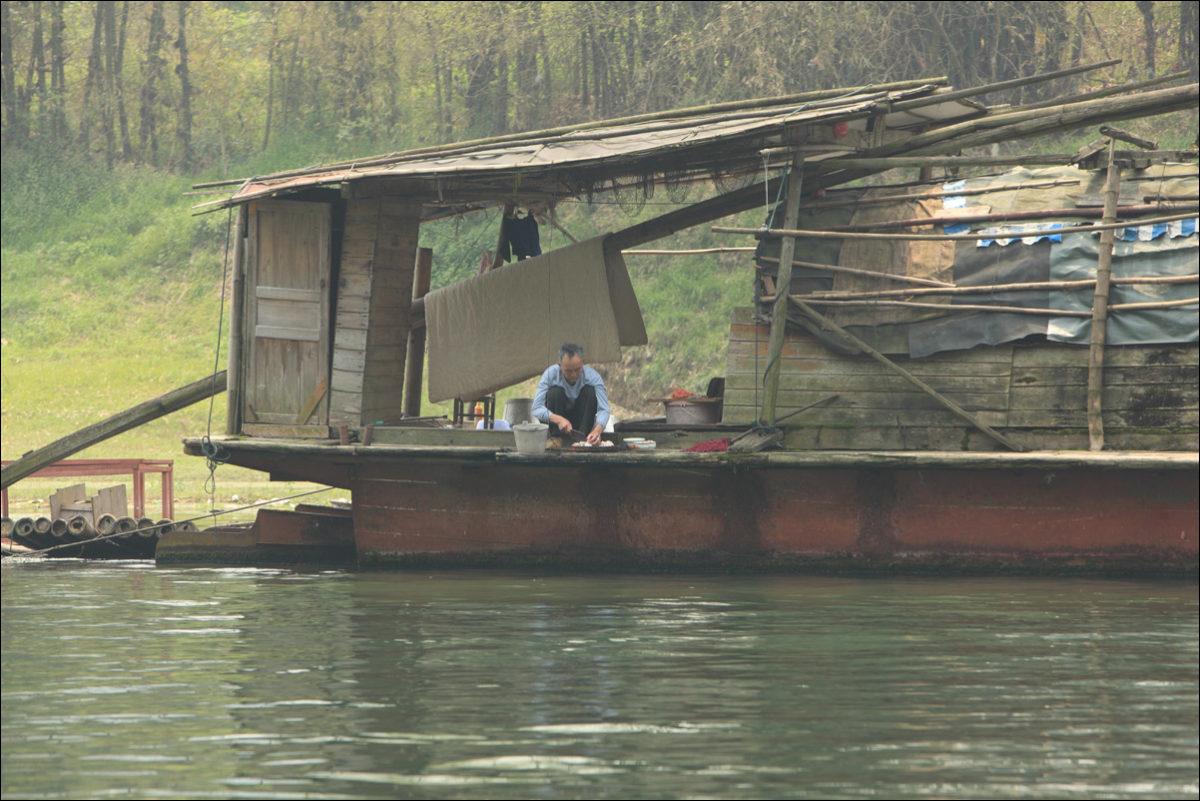 Река Ли местный житель Янгшо Китай
