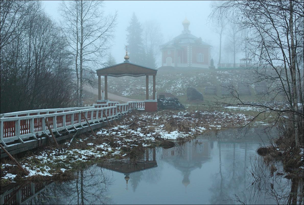 Исток реки Волги Тверская область