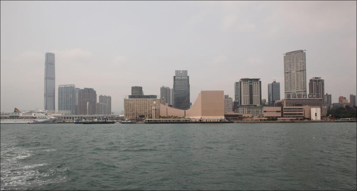 Вид на Коулун Гонконг