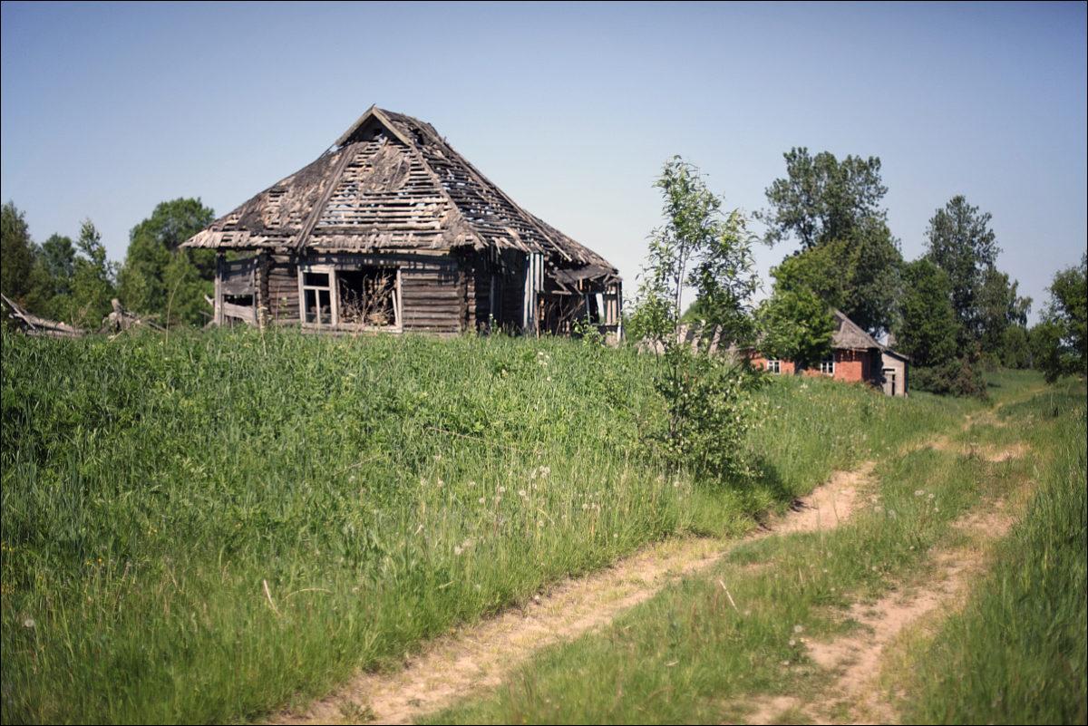 покинутые дома заброшенная деревня