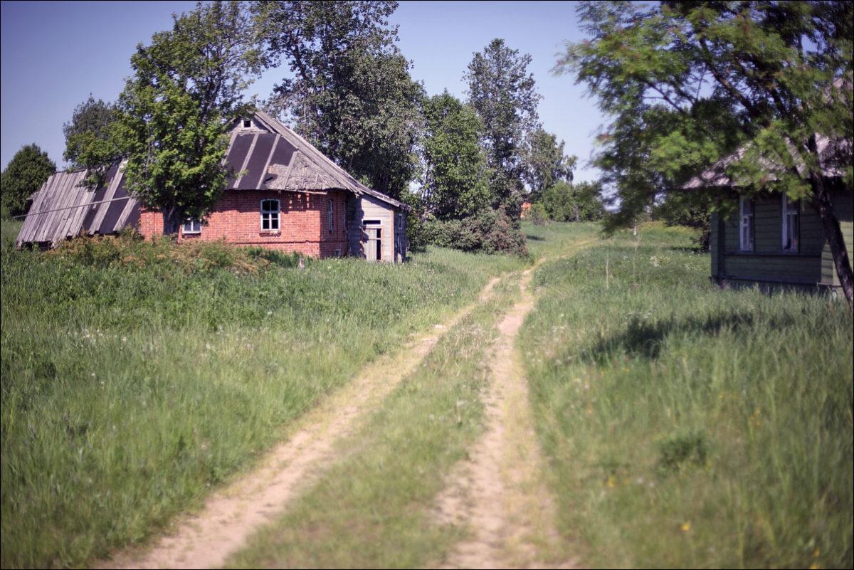 покинутая деревня
