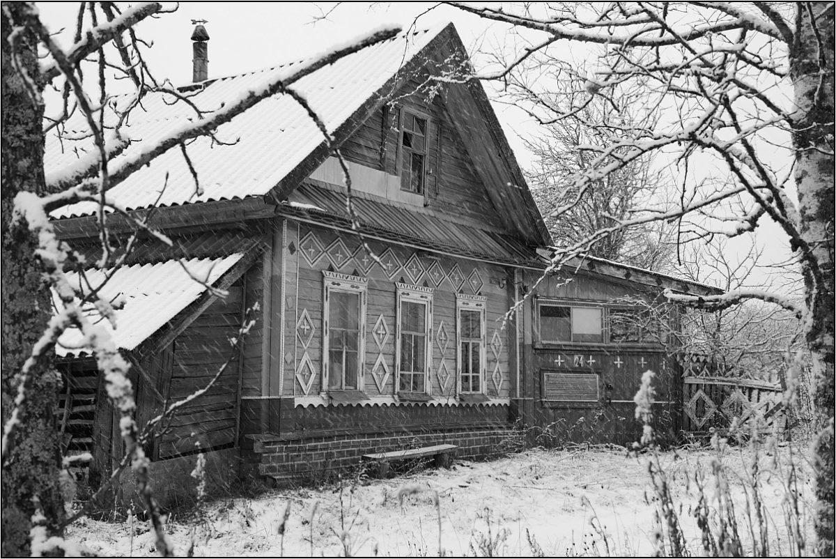 русская деревня дом