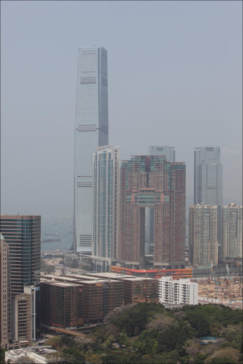 Небоскребы Гонконга Международный центр