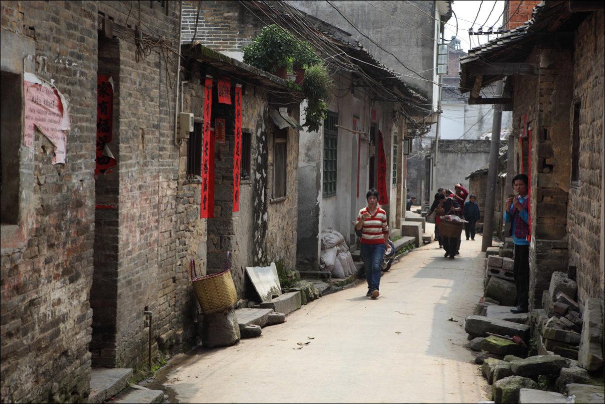 Деревня Фули Китай