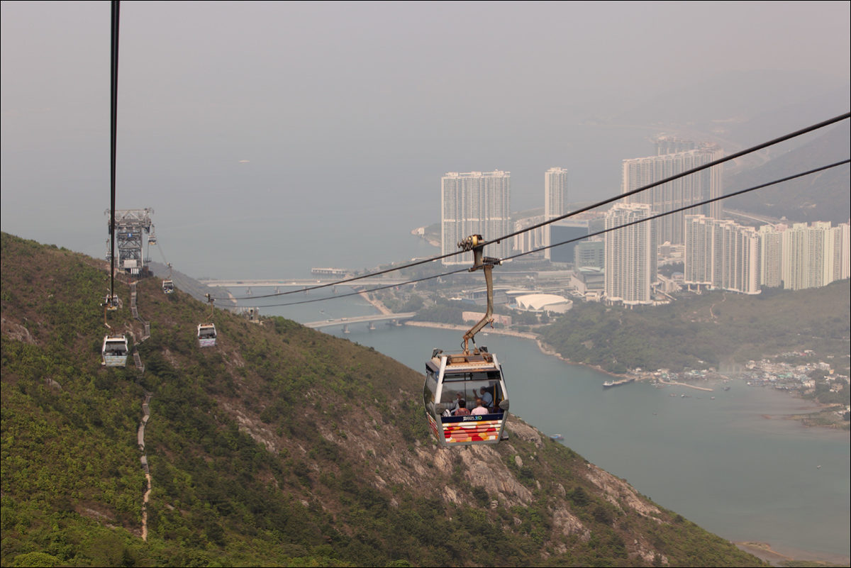 Канатная дорога Лантау Гонконг
