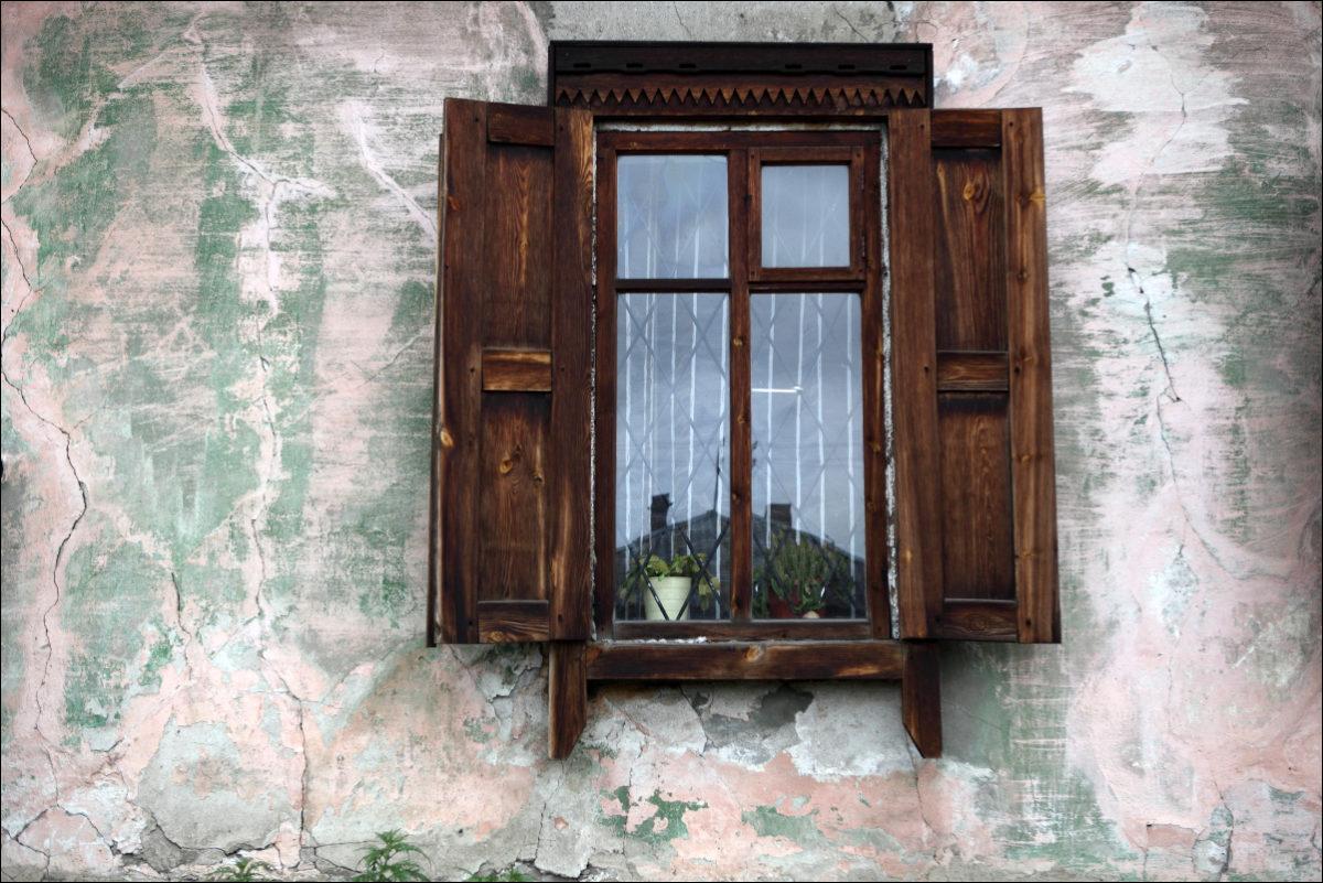 Иркутск деревянное зодчество окно
