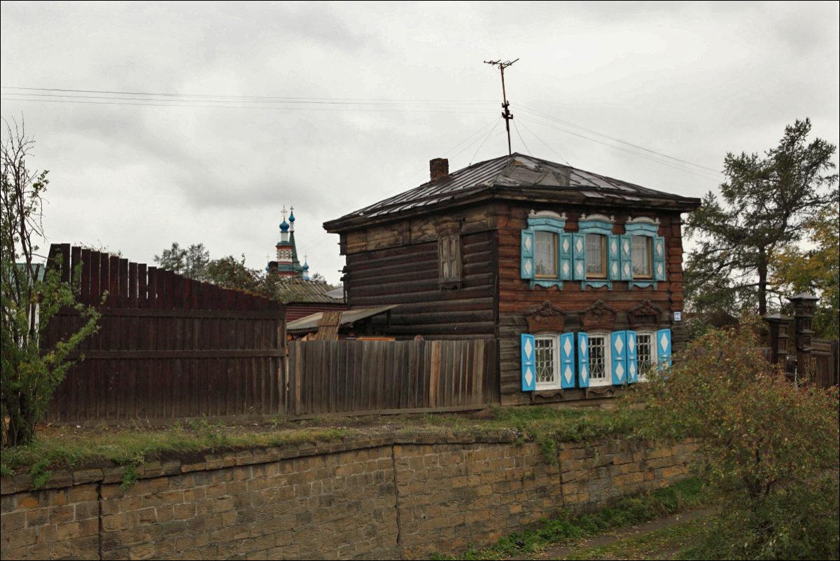 Иркутск деревянное зодчество улица Грязнова