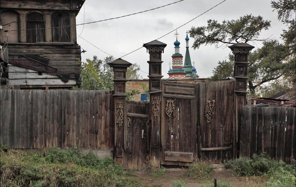 Деревянные кружева Иркутска