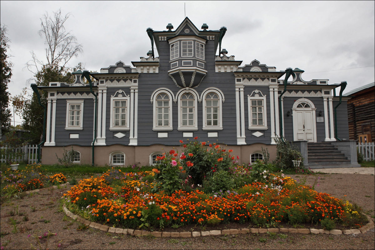 Дом Трубецких Иркутск