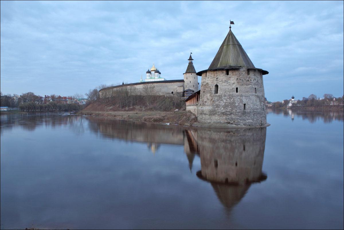 Псковский кремль Плоская башня