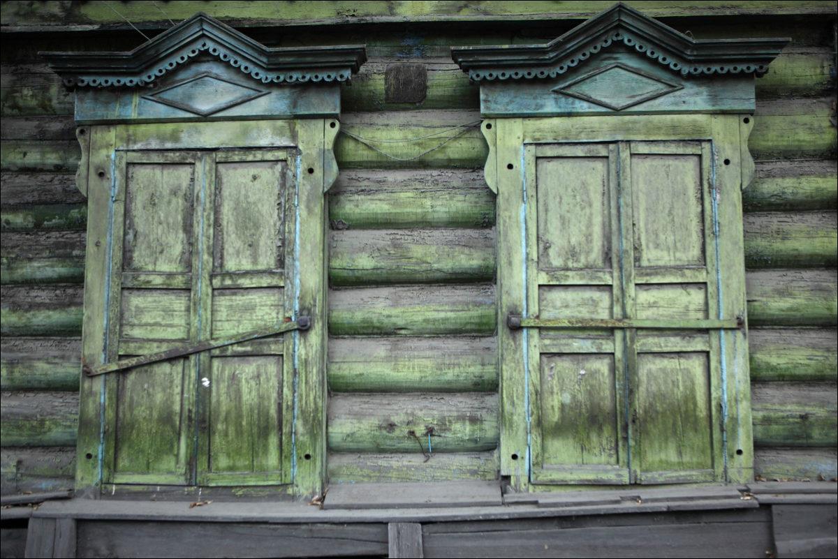 Деревянное зодчество Иркутска ставни