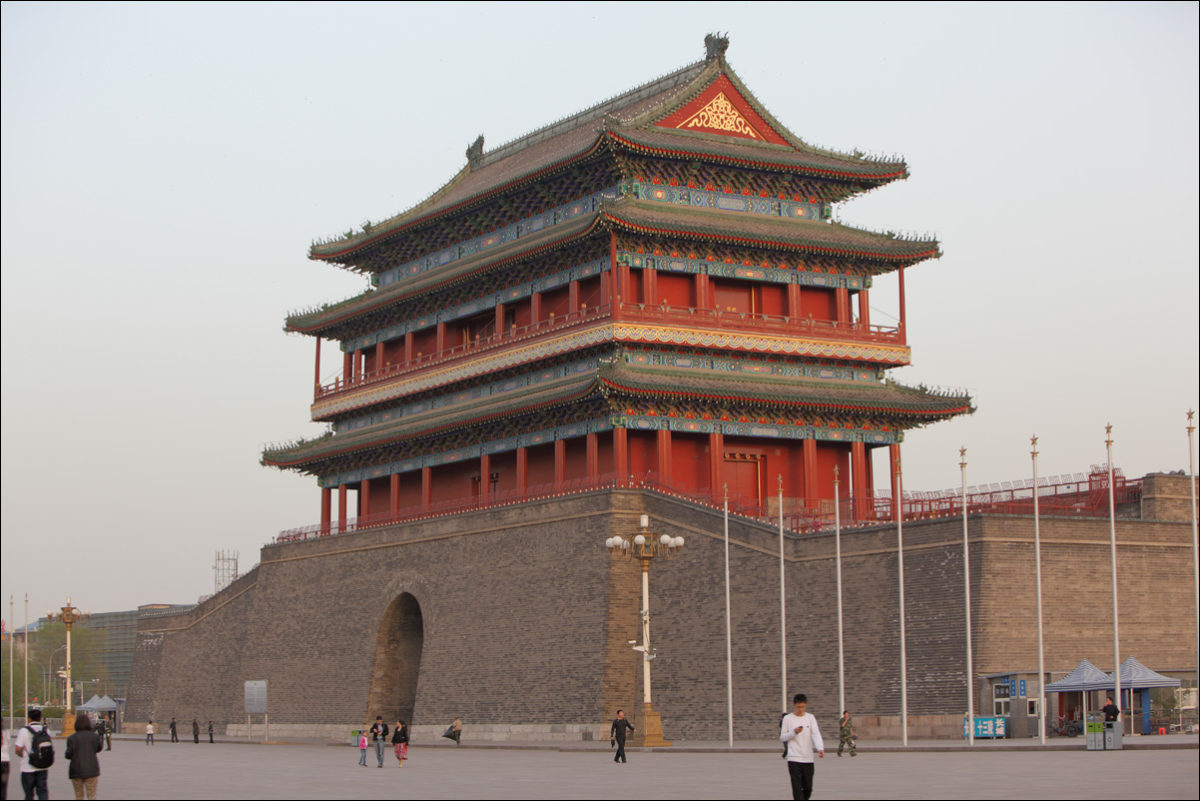 Площадь Тяньаньмэнь ворота