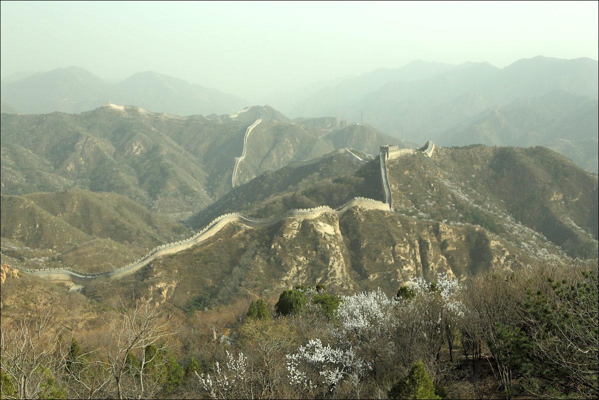 Великая китайская стена Бадалин