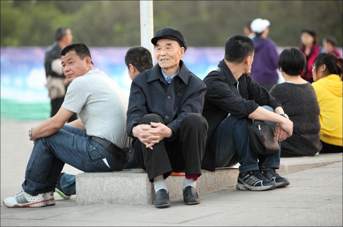 Тяньаньмэнь китайцы