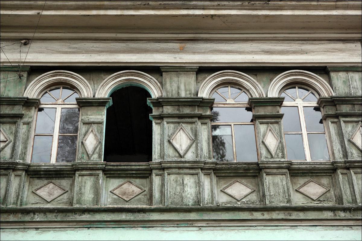 Деревянное зодчество Иркутска окна