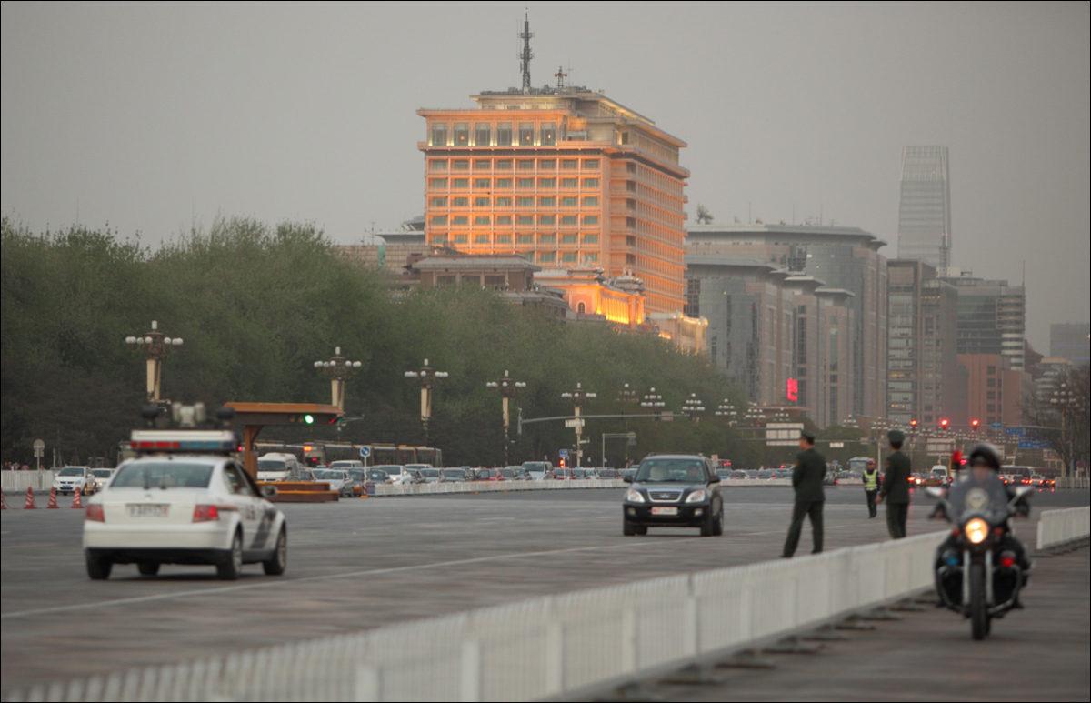 Улицы Пекина смог