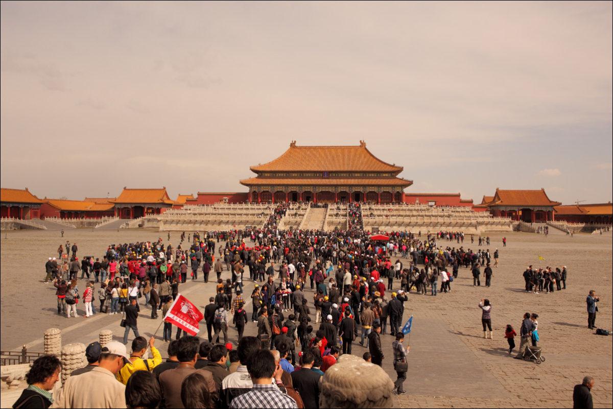 Запретный город весна Пекин Гугун