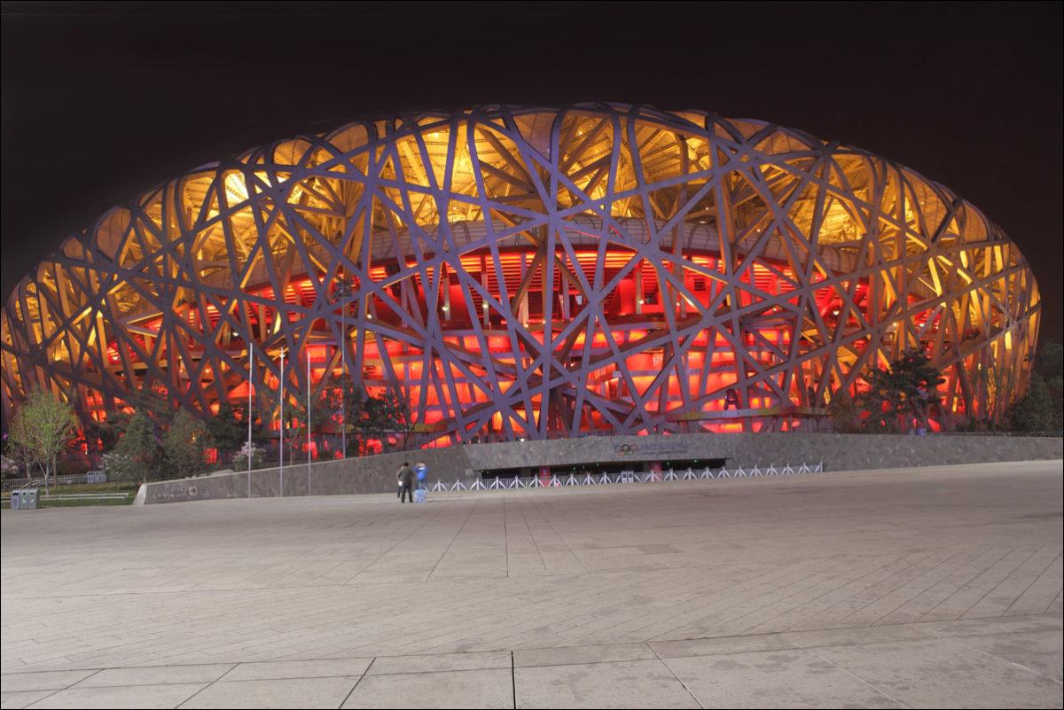Большое гнездо олимпиада 2008 Пекин