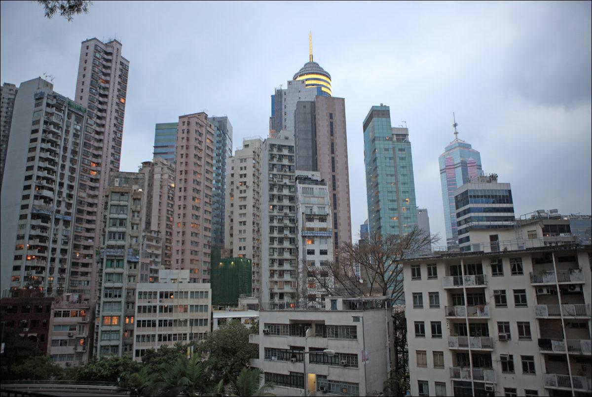 Гонконг жилые дома