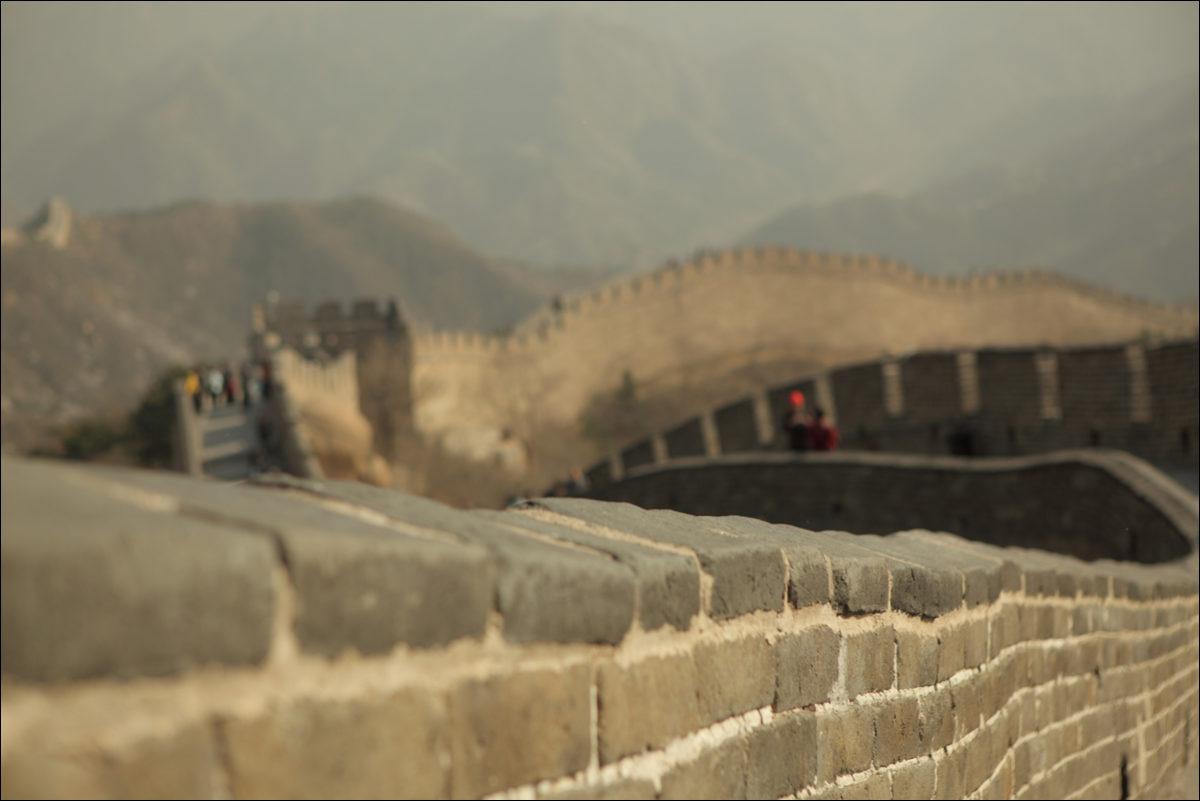 Великая китайская стена Бадалин Китай