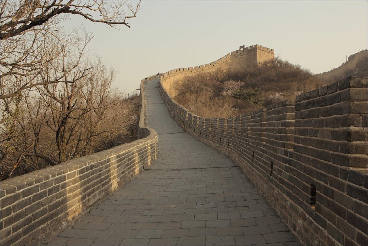 Великая китайская стена Бадалин весна