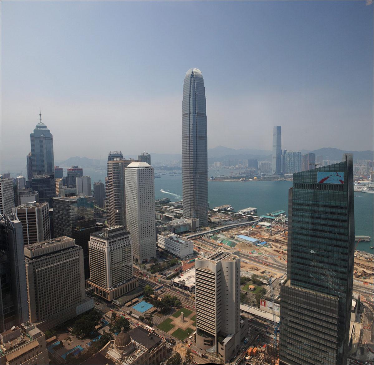 Самые высокие здания Гонконга небоскребы