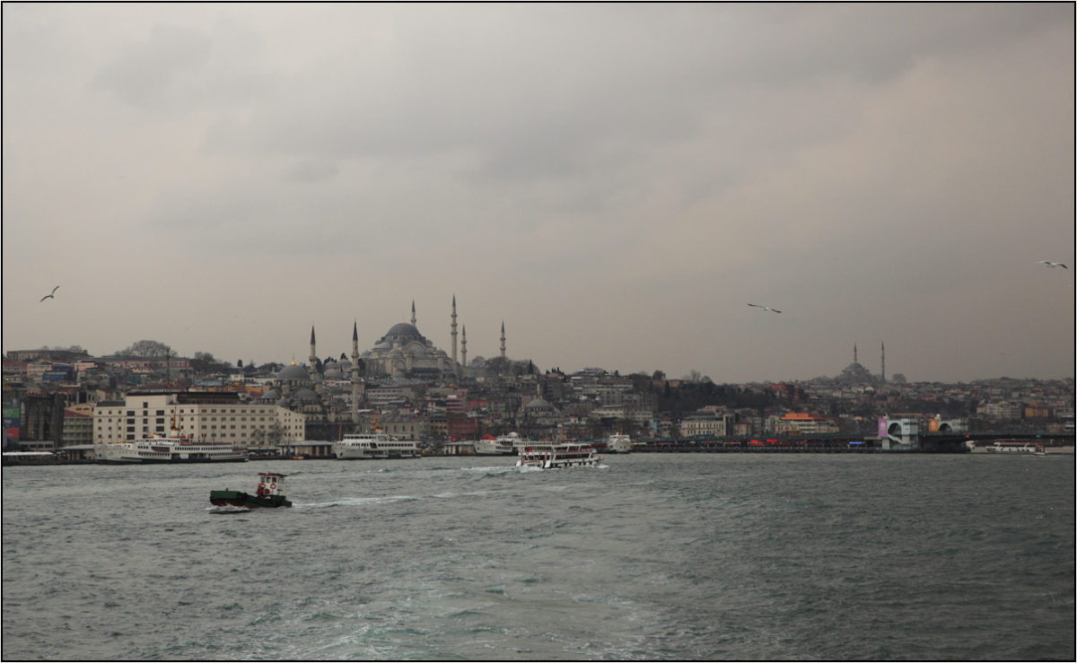 Султанахмет Голубая мечеть Босфор Стамбул
