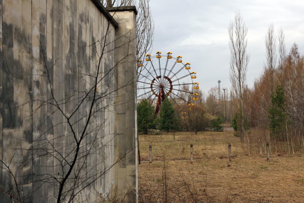колесо обозрения Припять
