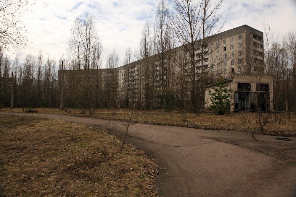 Стадион Припять жилой дом