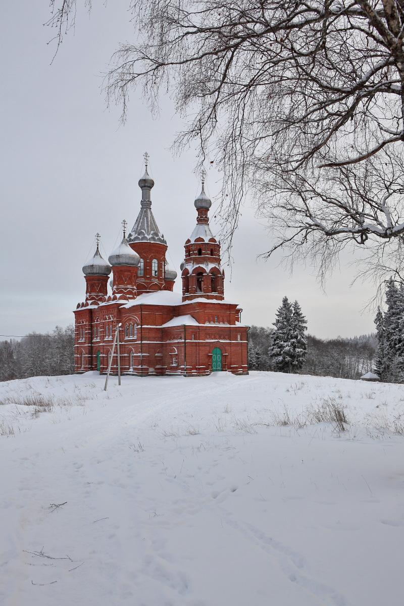 Храм в Волговерховье