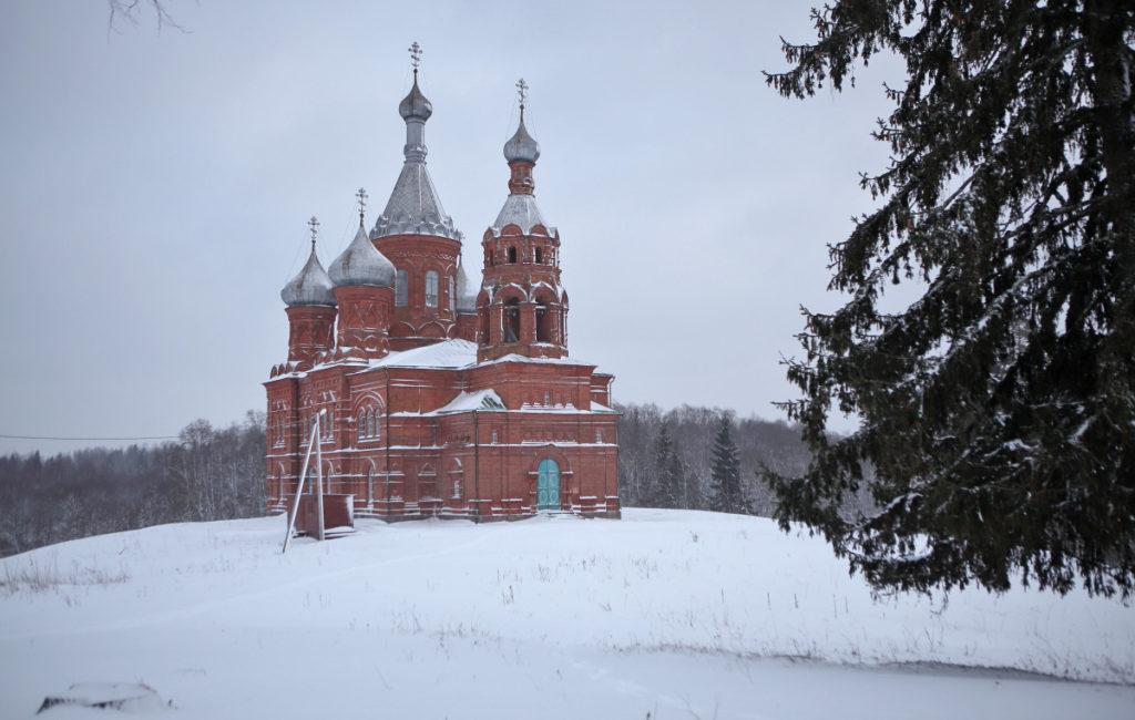 Исток Волги — Зима