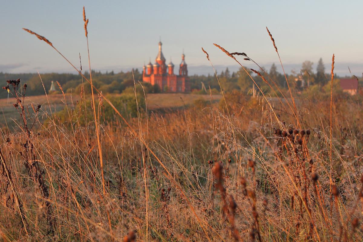 Ольгин монастырь осень