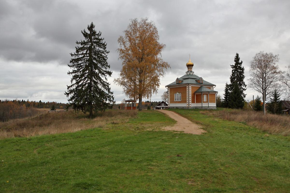 Церковь Николая Чудотворца исток Волги