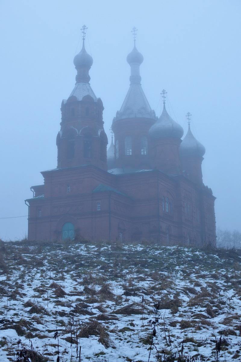 Храм на истоке Волги