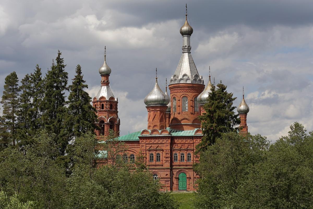 Преображенская церковь исток Волги