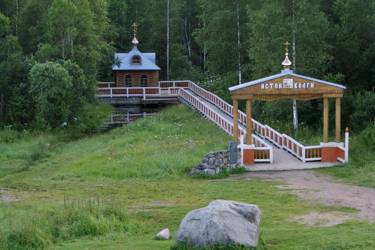 Исток Волги в Тверской области